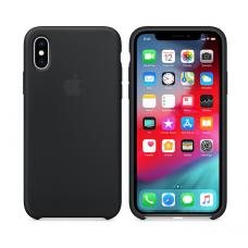 Кейс iPhone X Original Silicon Case Черный