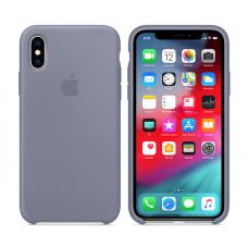 Кейс iPhone X Original Silicon Case Gray