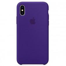 Кейс iPhone X Original Silicon Case Фиолетовый