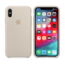 Кейс iPhone X Original Silicon Case Stone