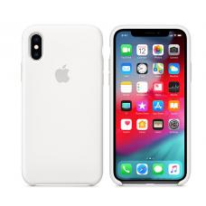 Кейс iPhone X Original Silicon Case White