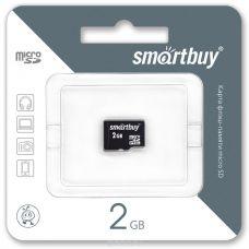 Флеш-накопитель MicroSD 2Гб SmartBuy (Без адаптера)