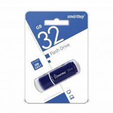 Флеш-накопитель USB 32Гб SmartBuy Crown,USB 3.0, Синий