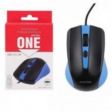 Мышь SmartBuy SBM-352 проводная, Черно-синяя