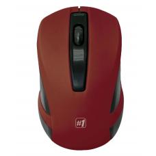 Мышь Defender MМ-605 беспроводная, Красный