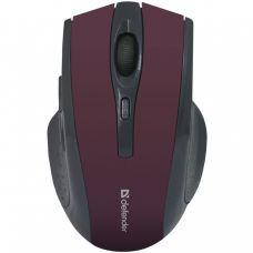 Мышь Defender MМ-665 беспроводная, Красный