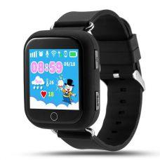 Умные детские часы с GPS Smart Baby Watch Q100, черные