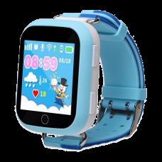 Умные детские часы с GPS Smart Baby Watch Q100, голубые
