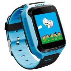 Умные детские часы с GPS Smart Baby Watch G900A, голубые