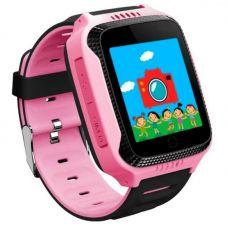 Умные детские часы с GPS Smart Baby Watch G900A, розовые