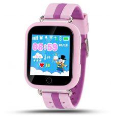Умные детские часы с GPS Smart Baby Watch Q100, розовые