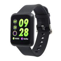 Спортивные смарт-часы Colmi Sport 3, Черные с черным ремешком