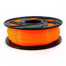 Пластик для 3D принтера ABS 1,75мм, 1кг, оранжевый флуоресцентный