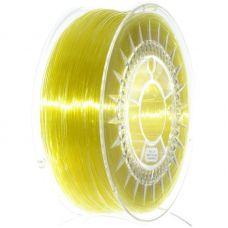 Пластик для 3D принтера PETG 1,75мм, 1кг, желтый прозрачный