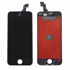 Дисплей для iPhone 5C + тачскрин Черный (JDF)
