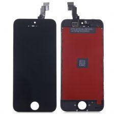 Дисплей для iPhone 5 + тачскрин Черный (LT)