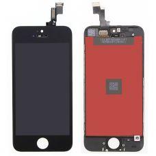 Дисплей для iPhone 5S/SE + тачскрин Черный (Hancai)
