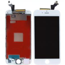 Дисплей для iPhone 6S Plus + тачскрин Белый (LCD Sharp)