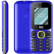 Мобильный телефон BQ 1848 Step+, Синий+Желтый