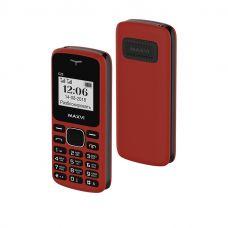 Мобильный телефон Maxvi C23, Красный+черный (без ЗУ)