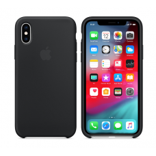 Кейс iPhone X Original Silicon Case Black