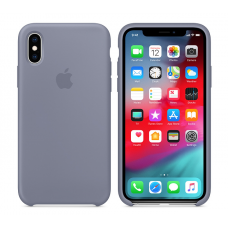 Кейс iPhone X Original Silicon Case Gray