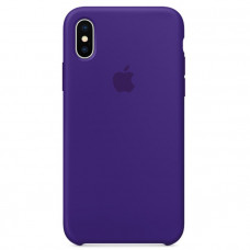 Кейс iPhone X Original Silicon Case Фиолетовый