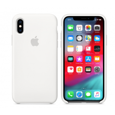 Кейс iPhone X Original Silicon Case White