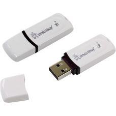 Флеш-накопитель USB 16Гб SmartBuy Paean, Белый