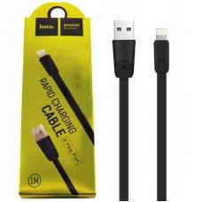 USB кабель Lightning Hoco X9, 1 метр, черный