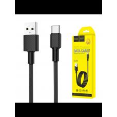 USB кабель Type-C Hoco X29 1м, Черный