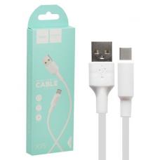 USB кабель Type-C Hoco X25 Белый
