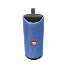 Колонка TG113 голубая Bluetooth