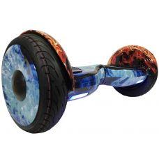 """Гироскутер Smart Balance Wheel 10,5"""" Огонь и Лёд с самобалансом"""