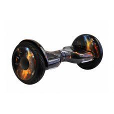 """Гироскутер Smart Balance Wheel 10,5"""" Черный космос с самобалансом"""