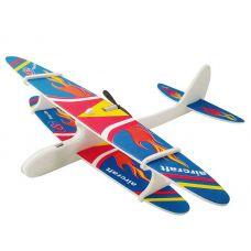 Самолет пенопластовый с мотором
