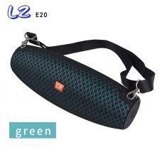 Колонка E20/L2 Bluetooth/AUX/USB/TF, Зеленая