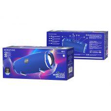 Колонка BR3 Borofone FM/microSD/USB Waterproof, синяя