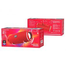 Колонка BR3 Borofone FM/microSD/USB Waterproof, красная