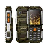 Мобильный телефон BQ 2430 Tank Power, Камуфляж+Серебро