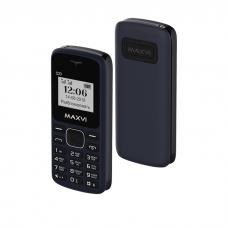 Мобильный телефон Maxvi C23, Синий+черный (без ЗУ)